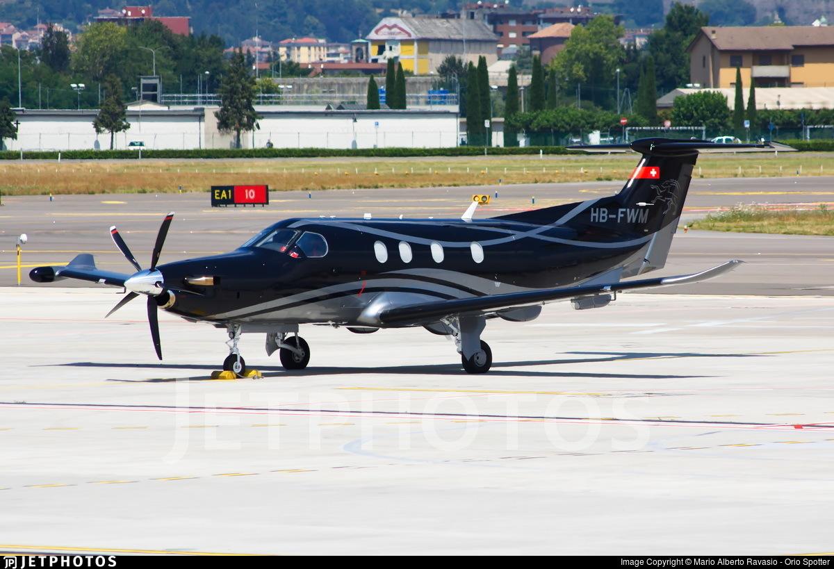HB-FWM - Pilatus PC-12/47E - Private