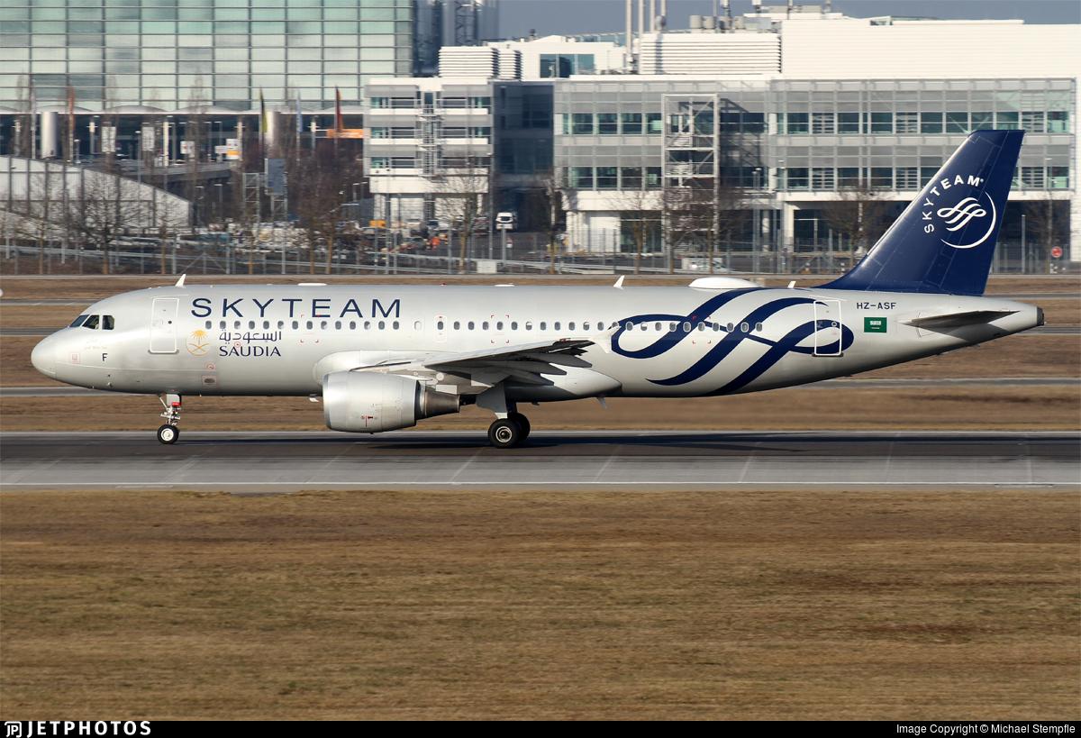 HZ-ASF - Airbus A320-214 - Saudi Arabian Airlines