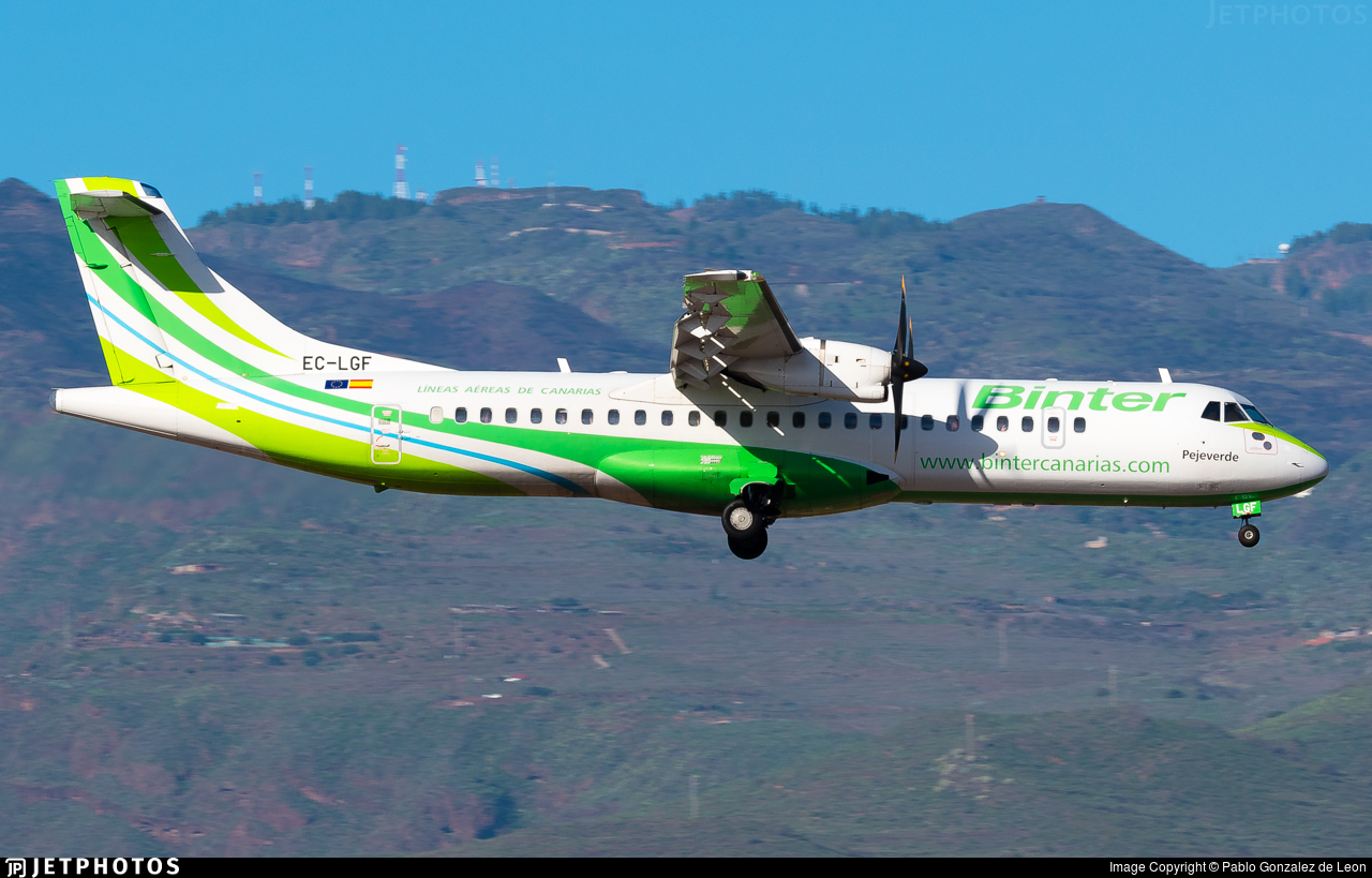 EC-LGF - ATR 72-212A(500) - Binter Canarias