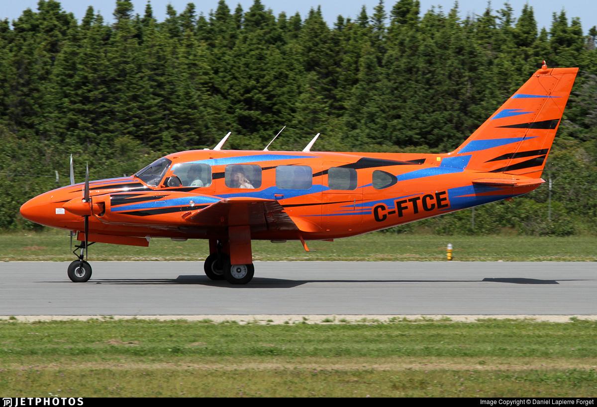 C-FTCE - Piper PA-31 Turbo Navajo - Private