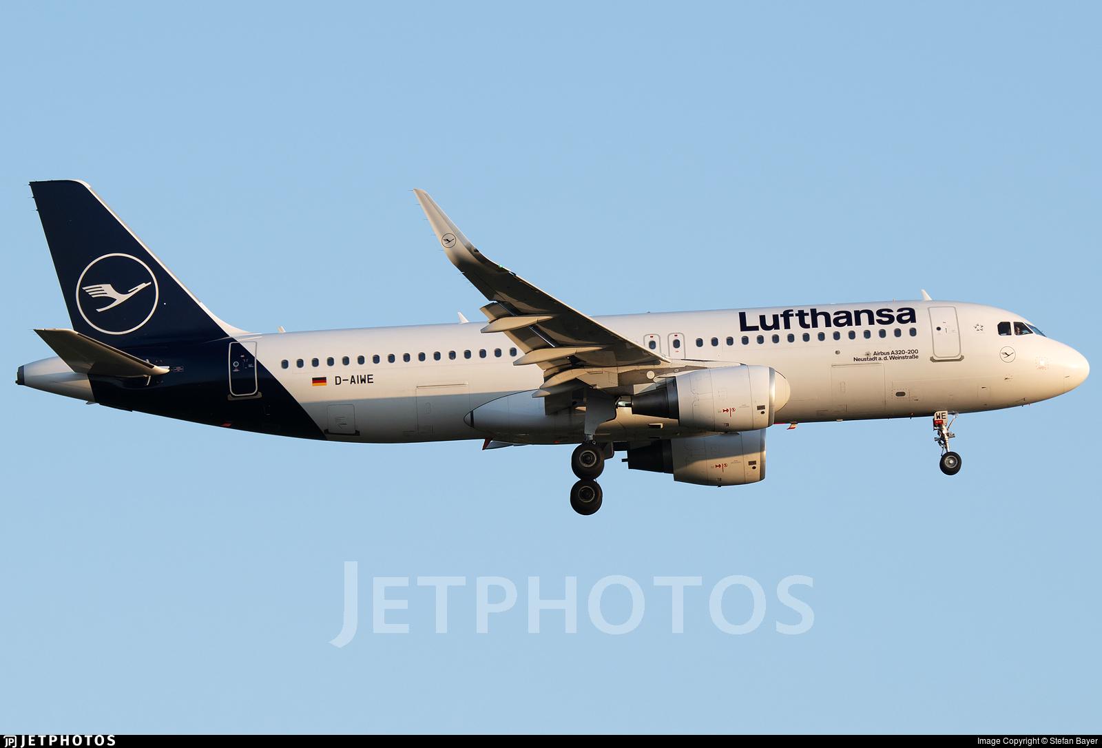 D-AIWE - Airbus A320-214 - Lufthansa