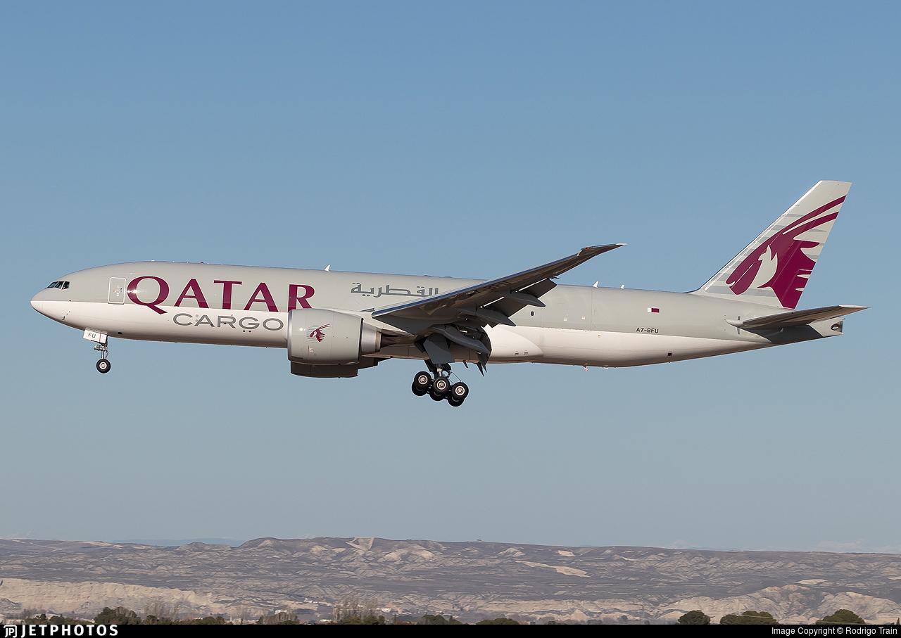 A7-BFU - Boeing 777-FDZ - Qatar Airways Cargo