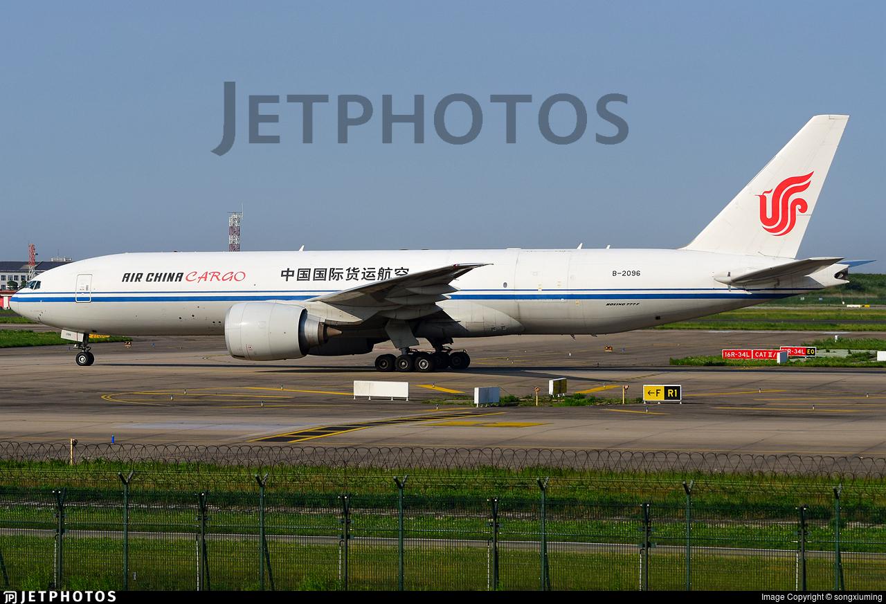 B-2096 - Boeing 777-FFT - Air China Cargo