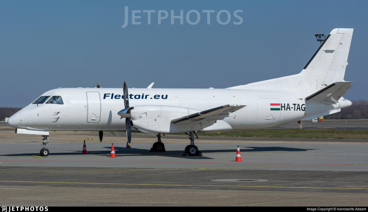 HA-TAG - Saab 340A(F) - Fleet Air International