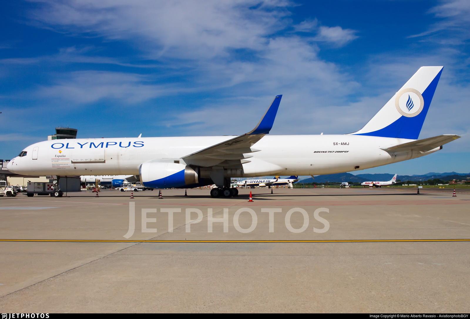 SX-AMJ - Boeing 757-223(PCF) - Olympus Airways