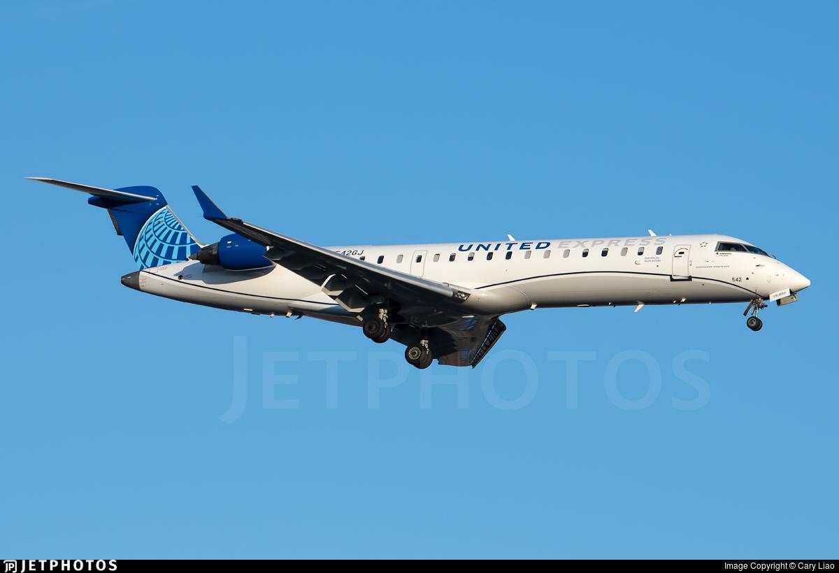 N542GJ - Bombardier CRJ-550 - United Express (GoJet Airlines)