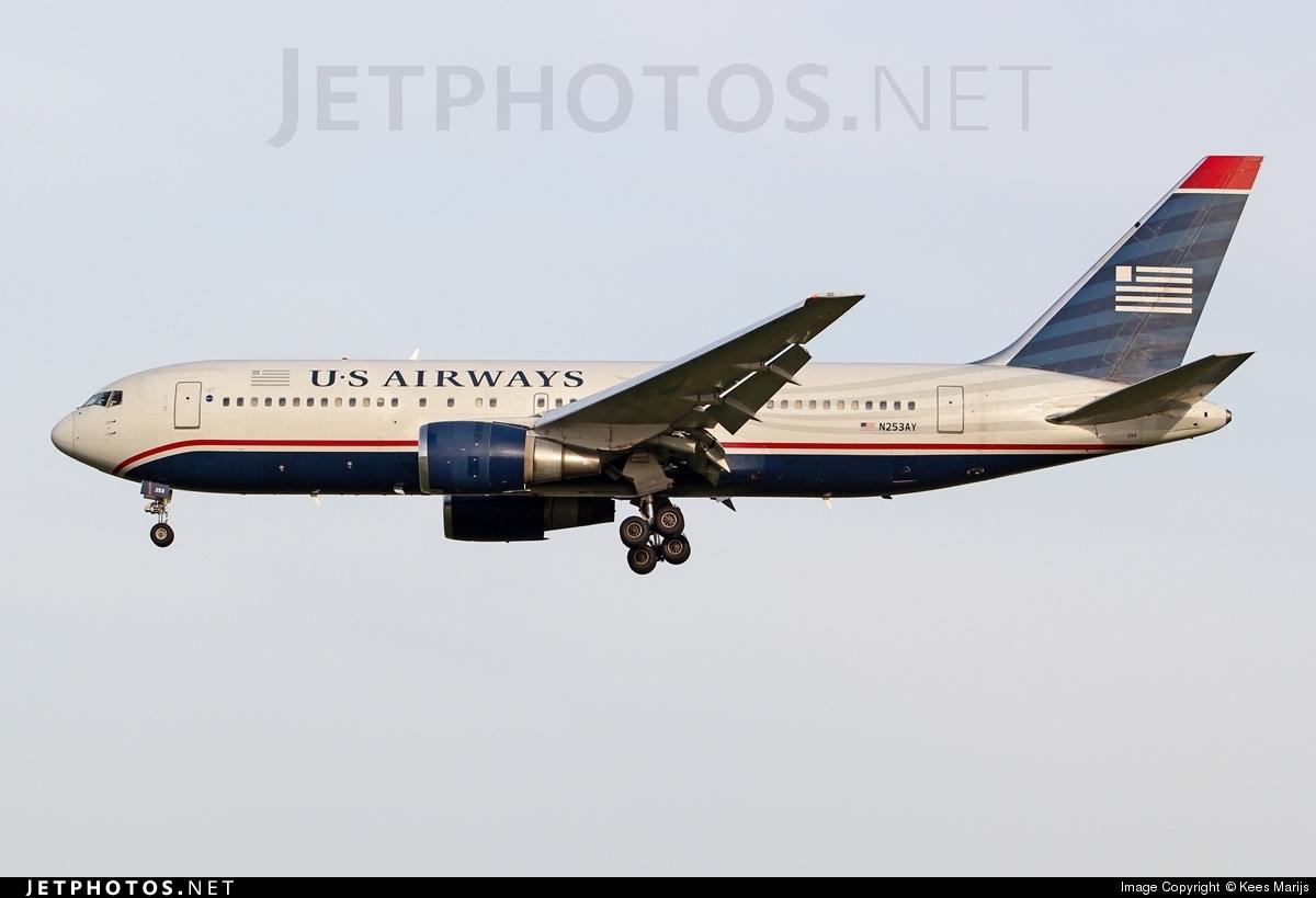 N253AY - Boeing 767-2B7(ER) - US Airways