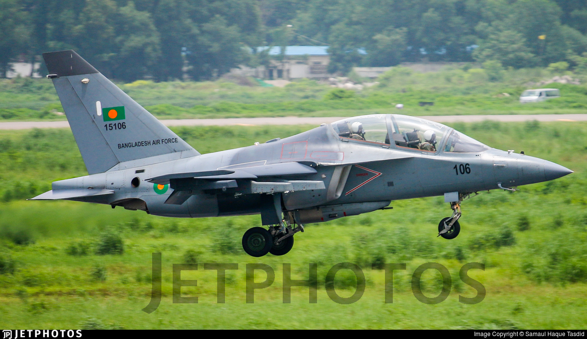 15106 - Yakovlev Yak-130 - Bangladesh - Air Force