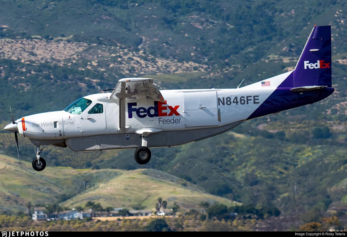 N846FE - Cessna 208B Super Cargomaster - FedEx Feeder (West Air)