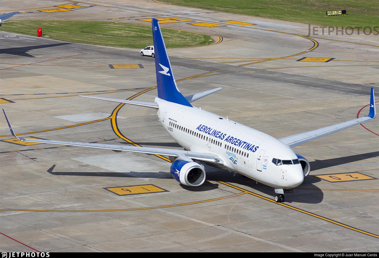 LV-BZO - Boeing 737-76N - Aerolíneas Argentinas