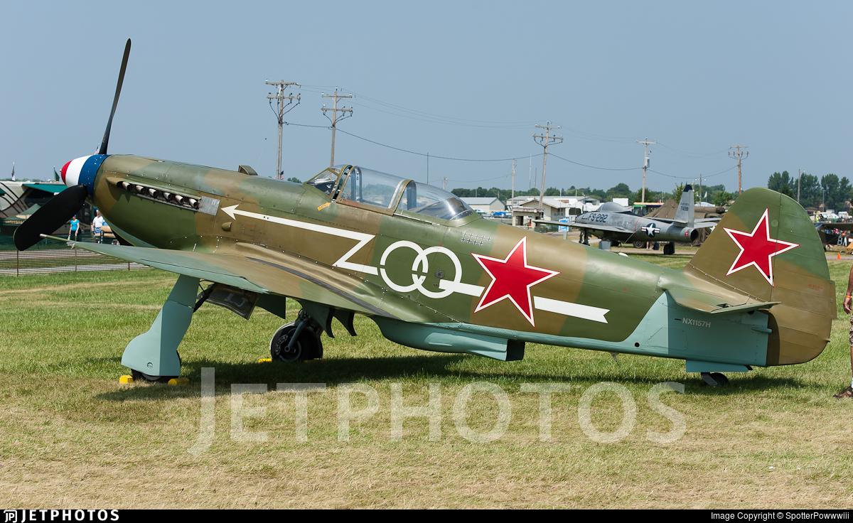 N1157H - Yakovlev Yak-9U-M - Private