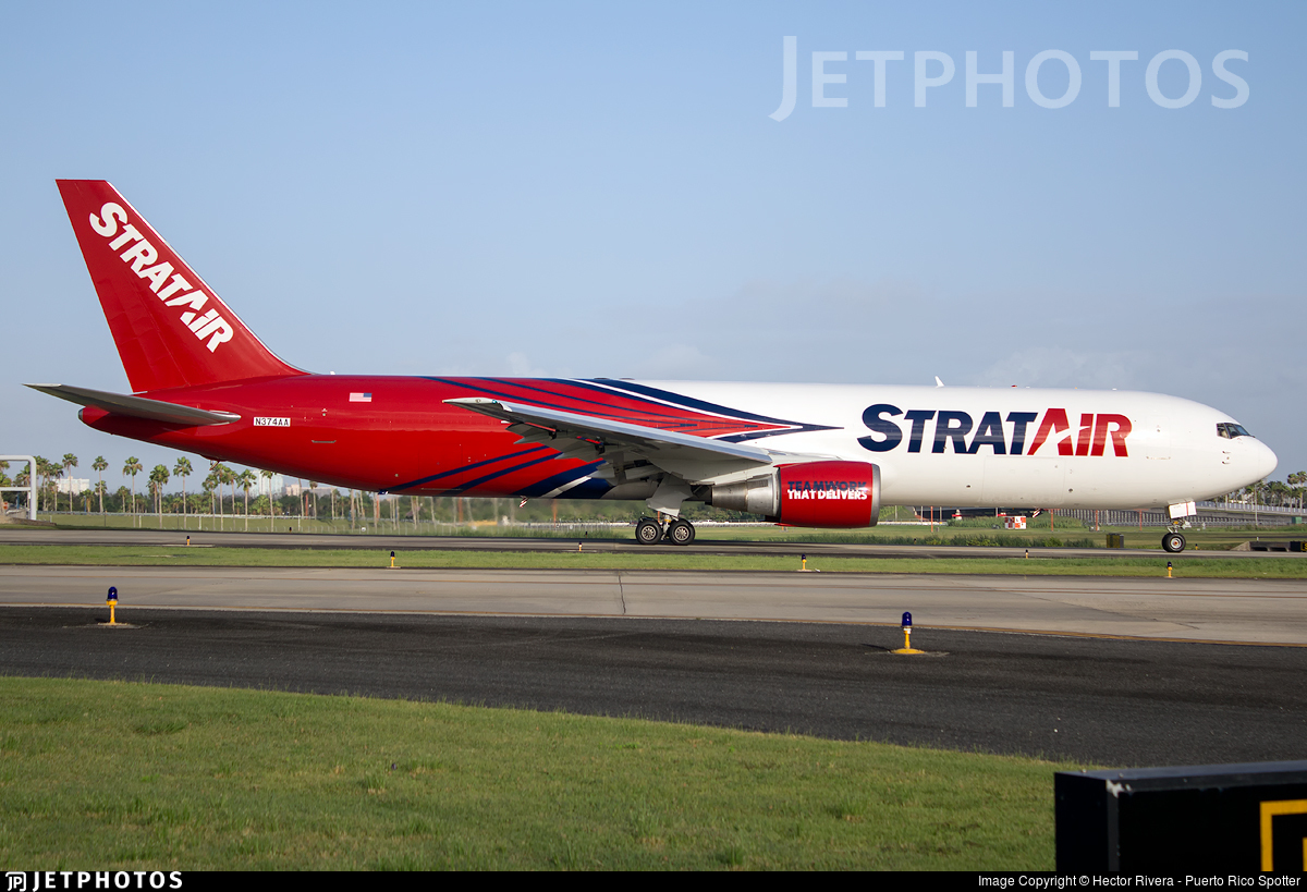N374AA - Boeing 767-323(ER)(BDSF) - StratAir (Northern Air Cargo)