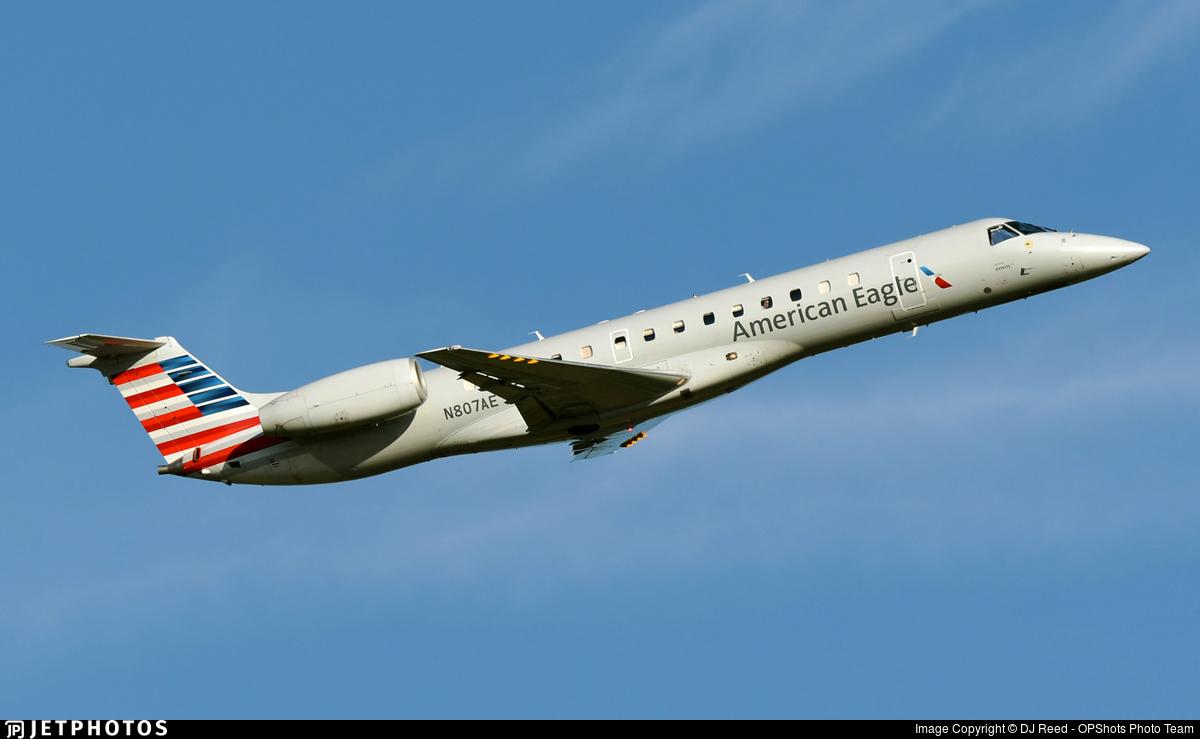 N807AE - Embraer ERJ-140LR - American Eagle (Envoy Air)