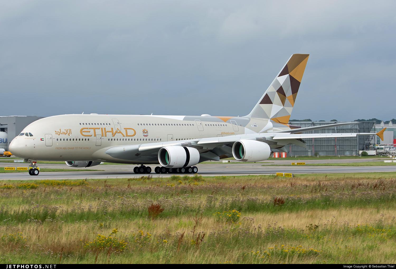 F-WWAZ - Airbus A380-861 - Etihad Airways