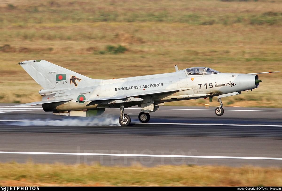 2715 - Chengdu F-7BGI - Bangladesh - Air Force