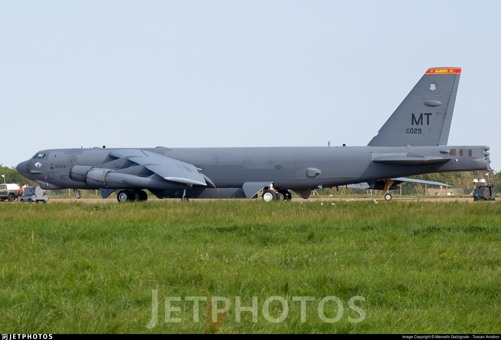 60-0029 - Boeing B-52H Stratofortress - United States - US Air Force (USAF)
