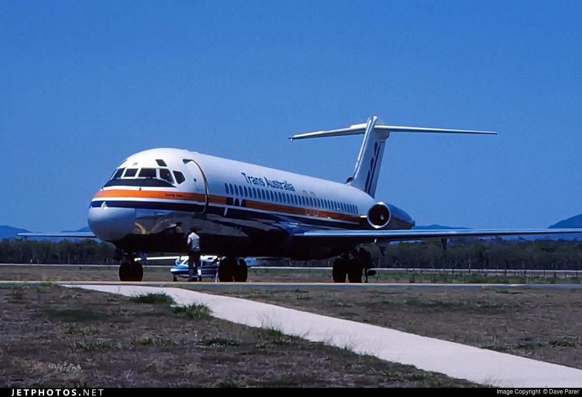VH-TJR - McDonnell Douglas DC-9-31 - Trans Australia Airlines (TAA)