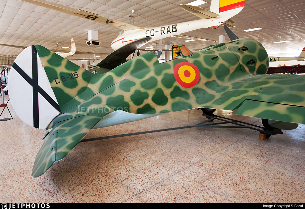 C.8-25 - Polikarpov I-16 - Spain - Air Force