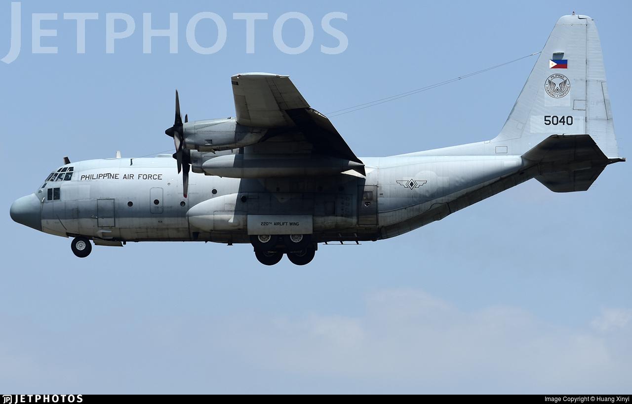 5040 - Lockheed C-130T Hercules - Philippines - Air Force