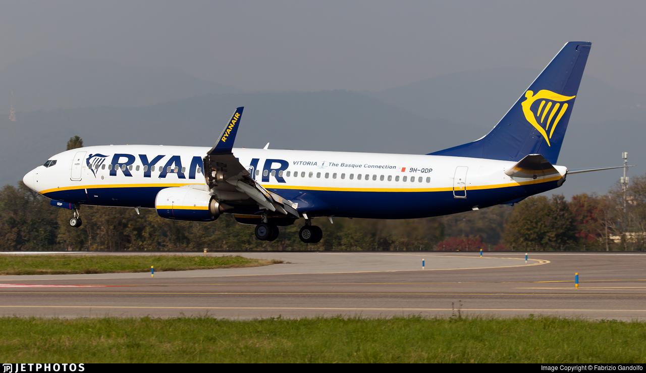 9H-QDP - Boeing 737-8AS - Ryanair (Malta Air)