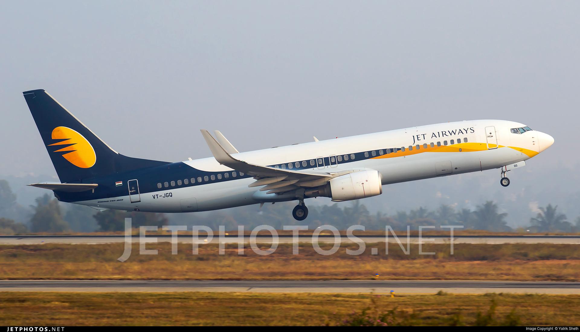 VT-JGQ - Boeing 737-85R - Jet Airways