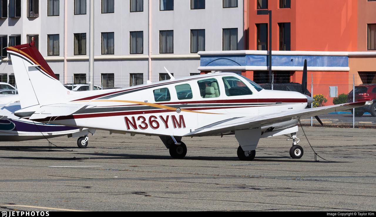 N36YM - Beechcraft B36TC Bonanza - Private