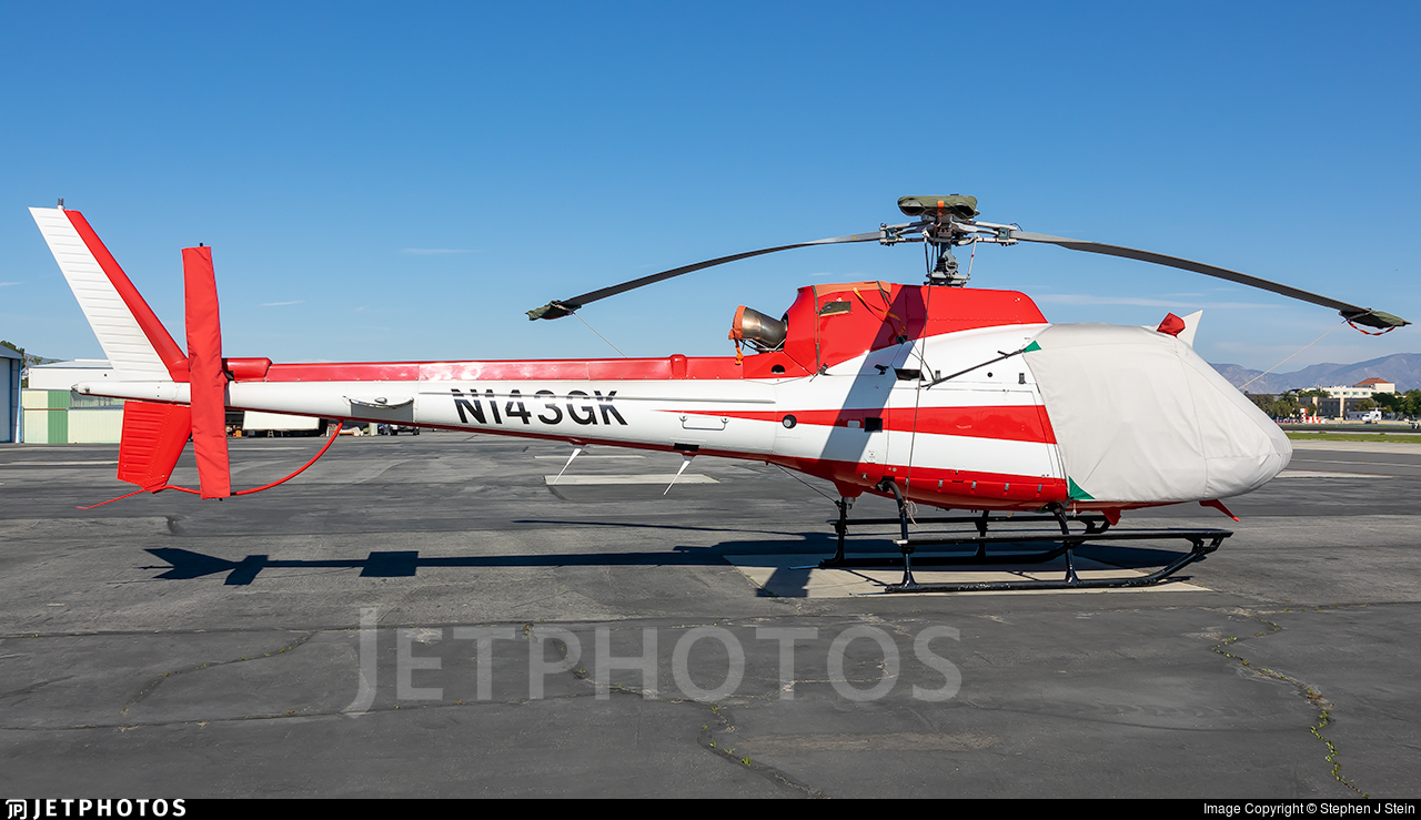 N143GK - Eurocopter AS 350B2 Ecureuil - Private