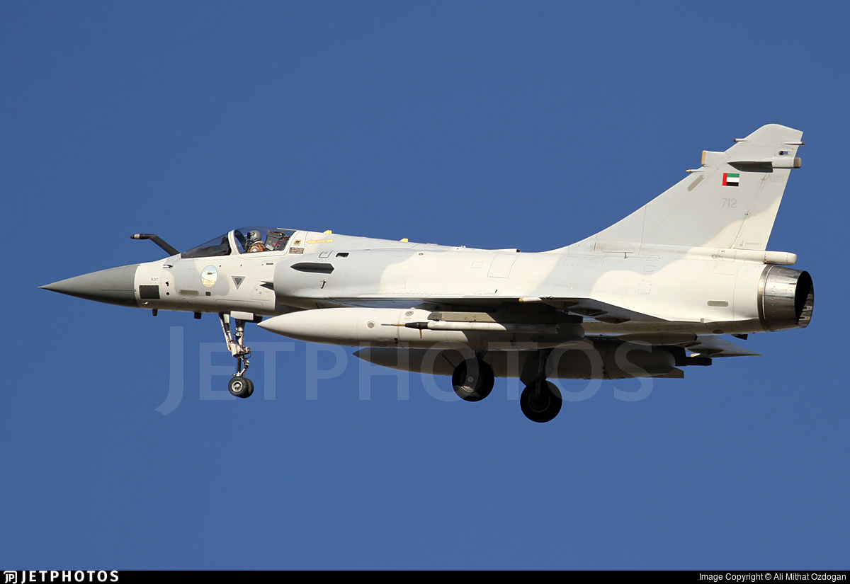 712 - Dassault Mirage 2000 - United Arab Emirates - Air Force