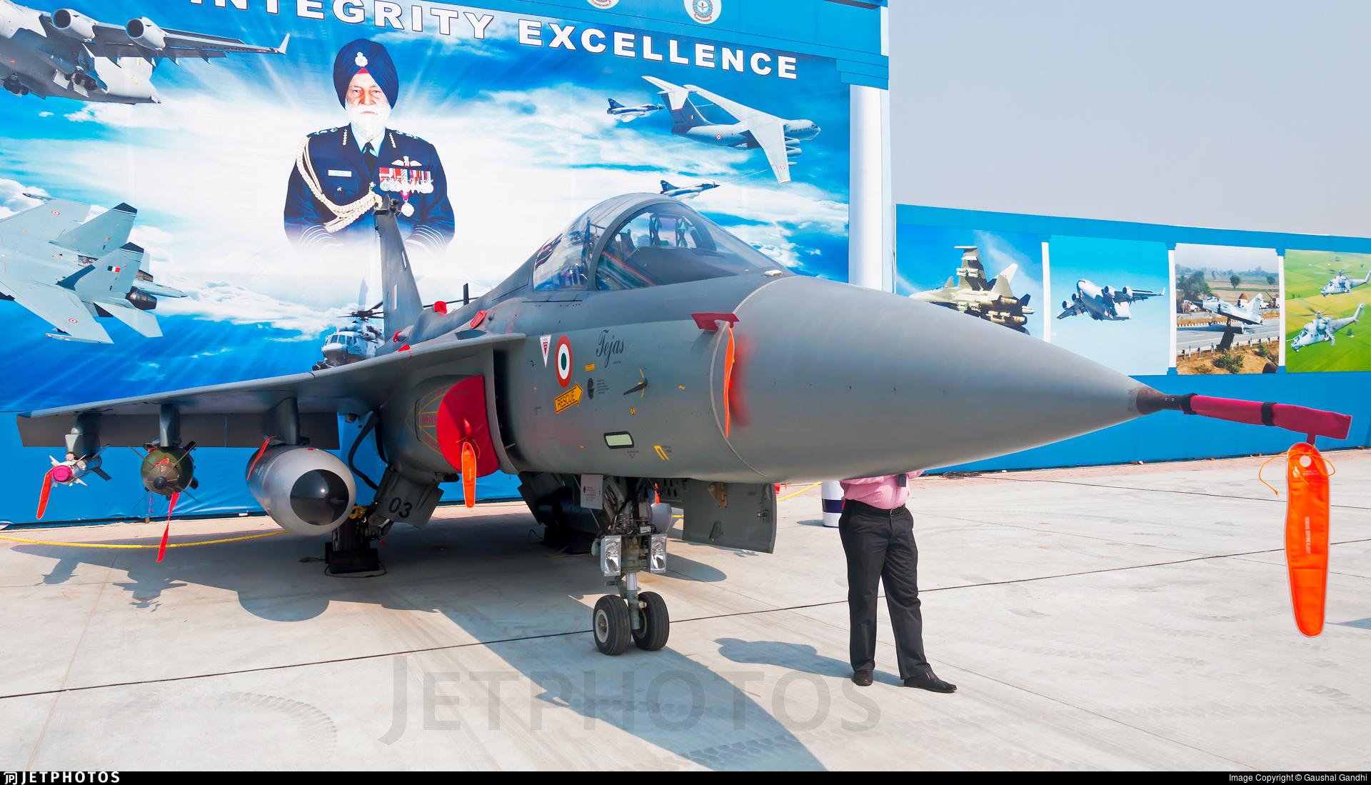 LA5003 - Hindustan Aeronautics LCA Tejas Mk.II - India - Air Force