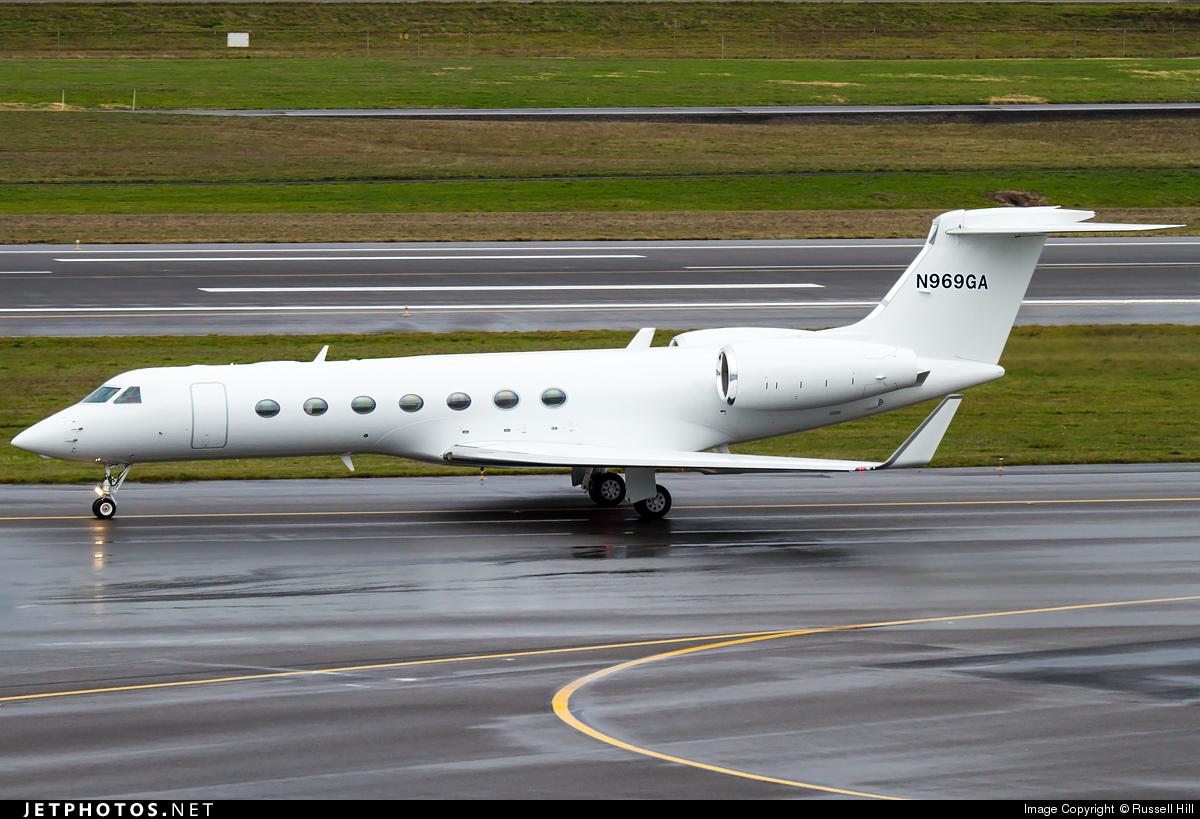 N969GA - Gulfstream G550 - Private