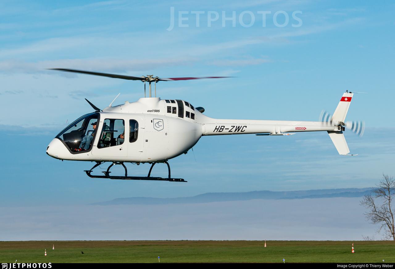HB-ZWC - Bell 505 Jet Ranger X - Centaurium Aviation