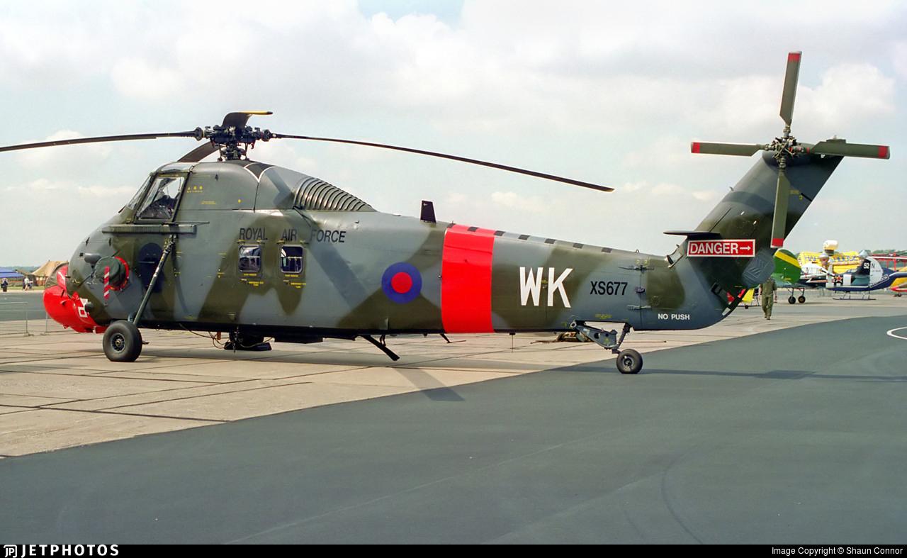 XS677 - Westland Wessex HC.2 - United Kingdom - Royal Air Force (RAF)