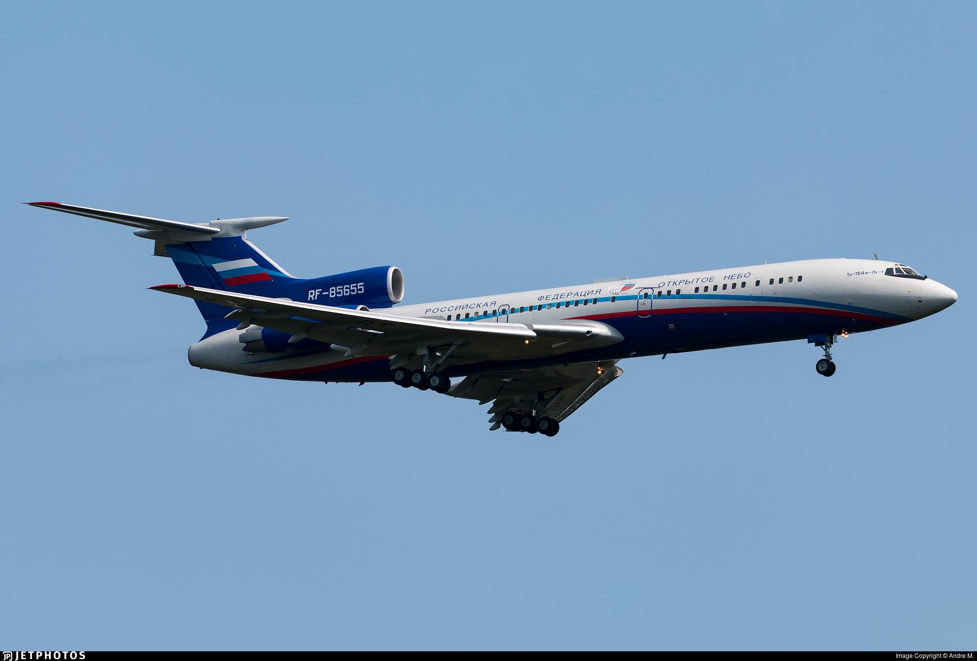 RF-85655 - Tupolev Tu-154M-LK-1 - Russia - Air Force