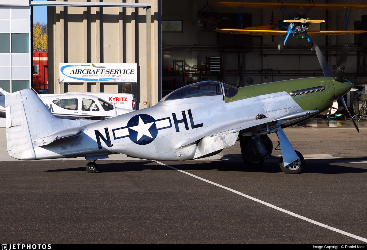 N51AB - North American P-51D Mustang - Private