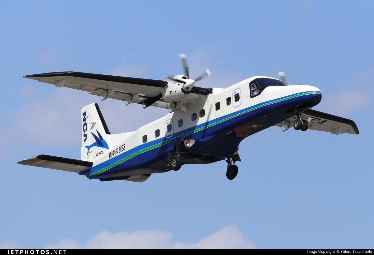 JA35CA - Dornier Do-228NG - New Central Airline (NCA)