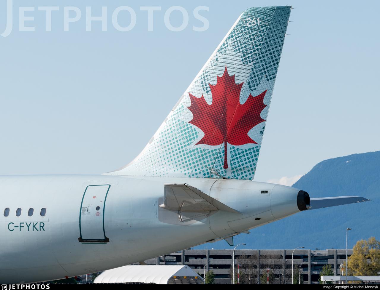 C-FYKR - Airbus A319-114 - Air Canada Jetz