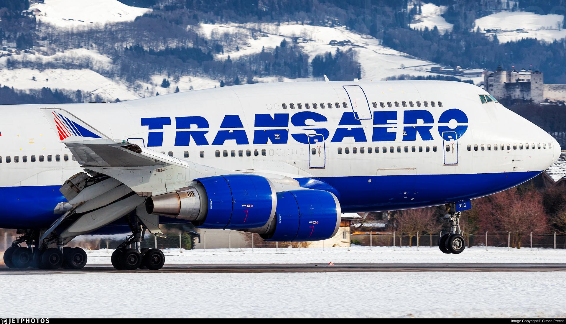 EI-XLC - Boeing 747-446 - Transaero Airlines