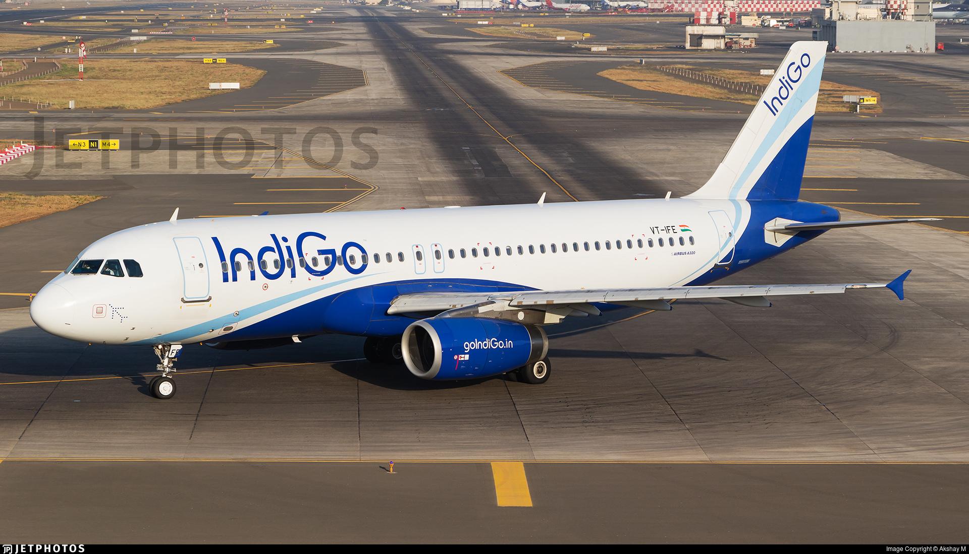 VT-IFE - Airbus A320-232 - IndiGo Airlines
