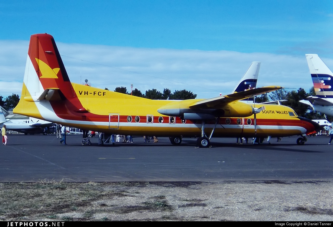 VH-FCF - Fokker F27-500 Friendship - Air New South Wales