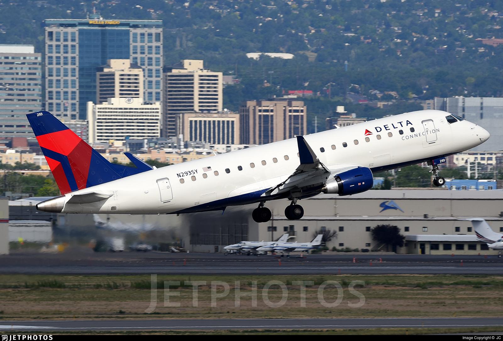 N293SY - Embraer 170-200LR - Delta Connection (SkyWest Airlines)