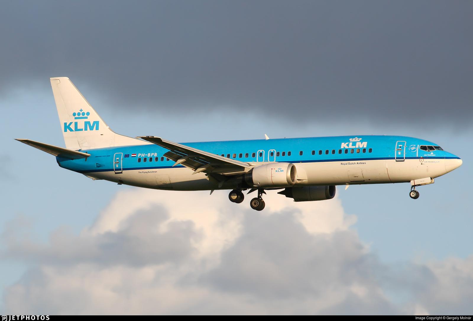 PH-BPB - Boeing 737-4Y0 - KLM Royal Dutch Airlines