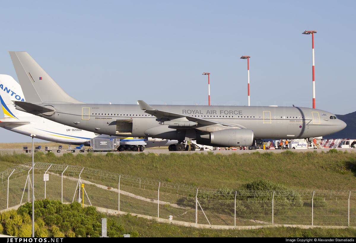 ZZ332 - Airbus A330-243 (MRTT) Voyager KC.3 - United Kingdom - Royal Air Force (RAF)