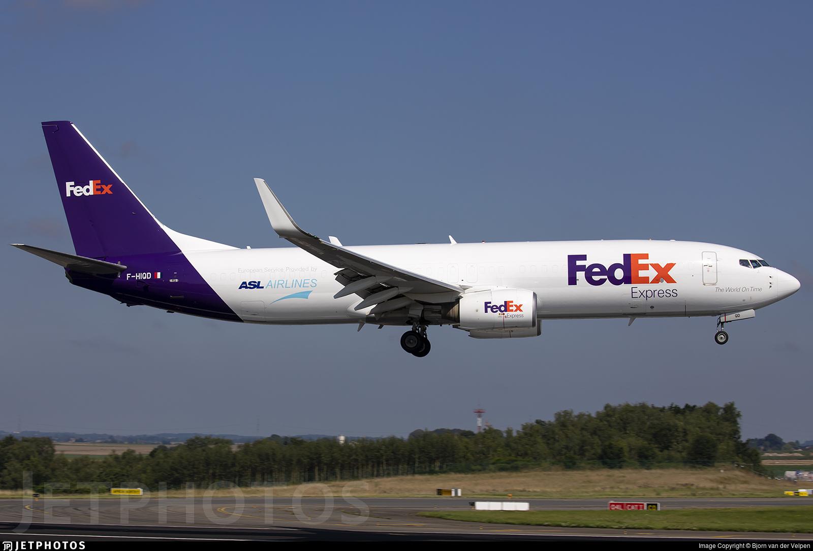 F-HIQD - Boeing 737-8AS(BCF) - FedEx (ASL Airlines)