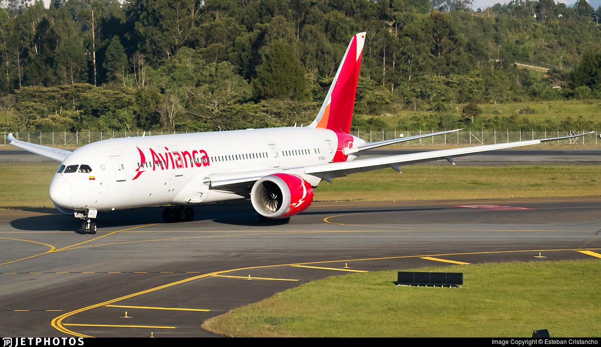 N786AV - Boeing 787-8 Dreamliner - Avianca
