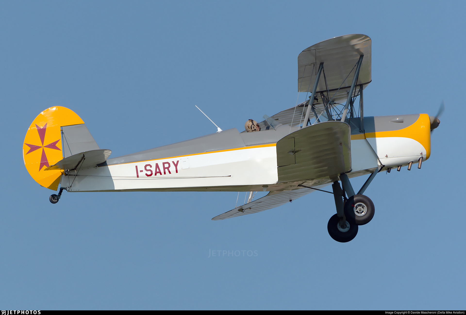 I-SARY - Stampe and Vertongen SV-4C - Private