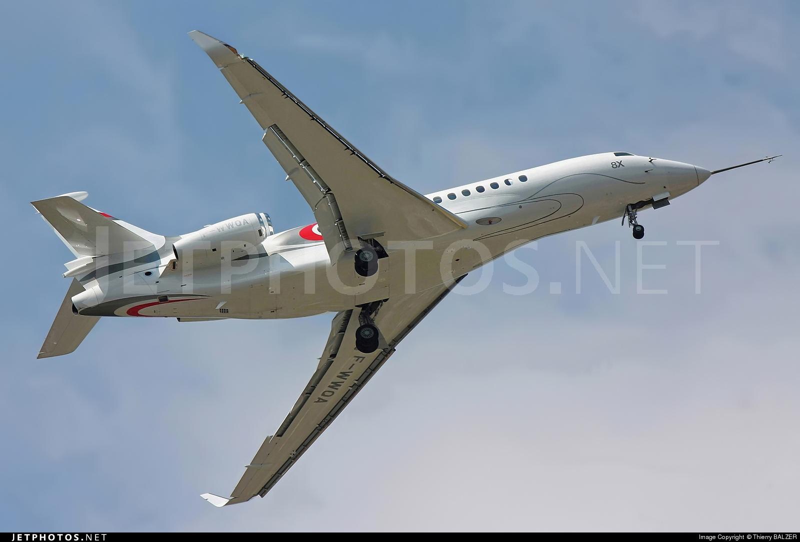 F-WWQA - Dassault Falcon 8X - Dassault Aviation