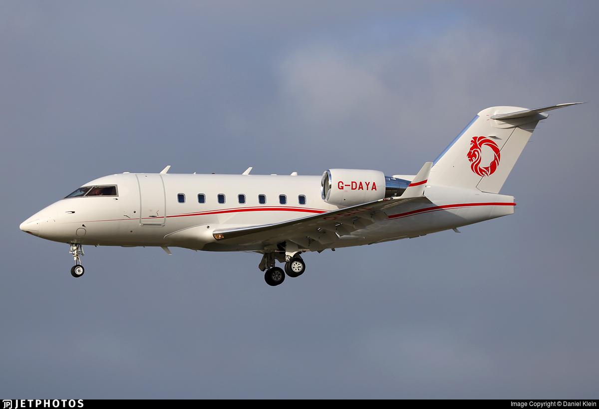 G-DAYA - Bombardier CL-600-2B16 Challenger 604 - Gama Aviation