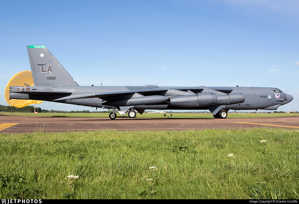 60-0002 - Boeing B-52H Stratofortress - United States - US Air Force (USAF)