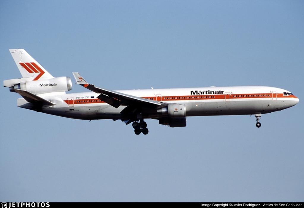 PH-MCP | McDonnell Douglas MD-11(CF) | Martinair | Javier Rodriguez