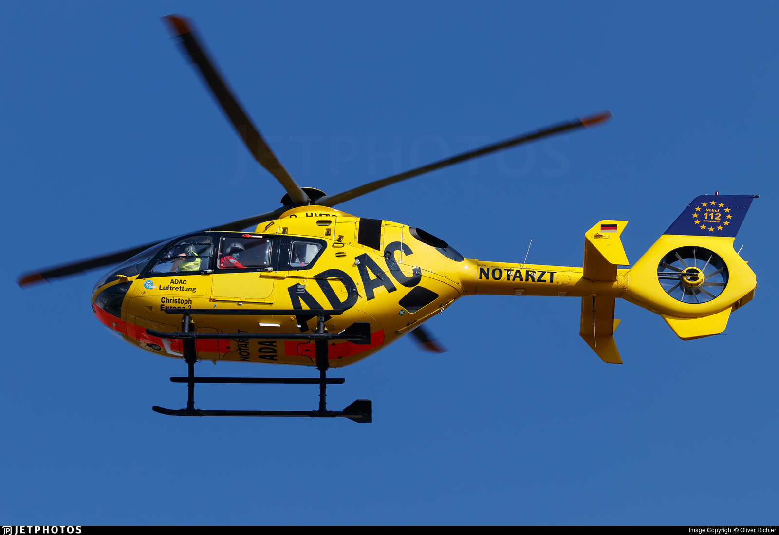 D-HHTS - Eurocopter EC 135P2 - ADAC Luftrettung